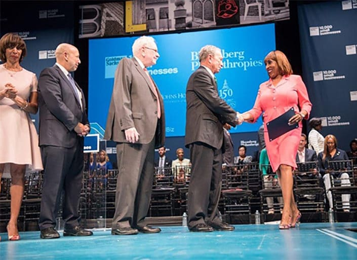 Dr. Sheila Brooks Graduates From the Goldman Sachs 10,000 Small Businesses Program
