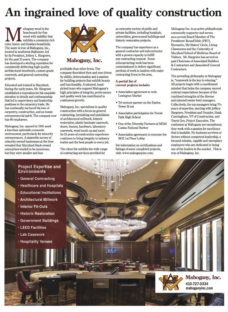 Mahogany, Inc. Celebrates 25 Years In Business
